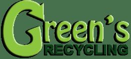Green's recycling logo