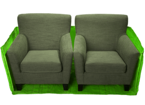 Skip bag cross section furniture