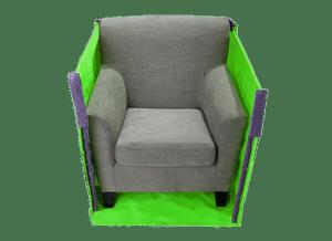 Midi skip bag cross section furniture